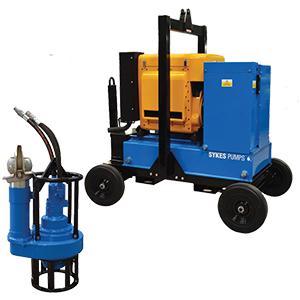 H100s hydraulic submersible pump khansaheb sykes for Submersible hydraulic pump motor